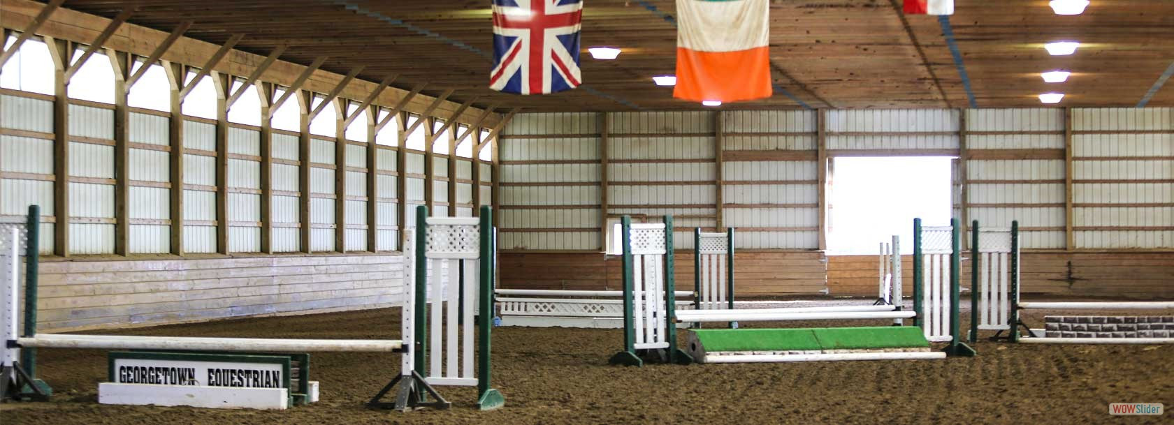 Our Indoor Arena